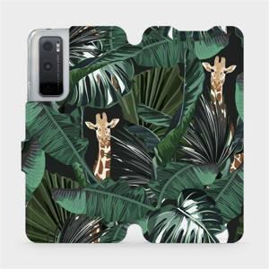 Flip pouzdro Mobiwear na mobil Vivo Y70 - VP06P Žirafky