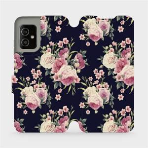 Flip pouzdro Mobiwear na mobil Asus Zenfone 8 - V068P Růžičky