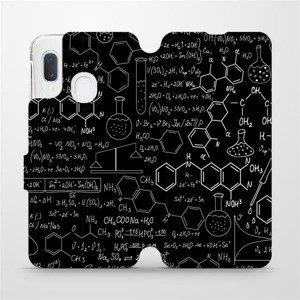Flipové pouzdro Mobiwear na mobil Samsung Galaxy A20e - V060P Vzorečky