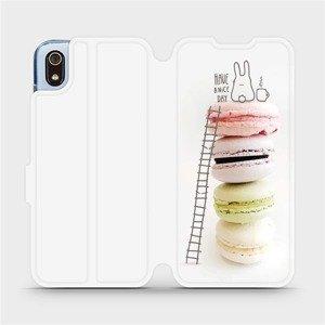 Flipové pouzdro Mobiwear na mobil Xiaomi Redmi 7A - M090P Makronky - have a nice day