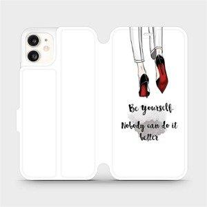Flipové pouzdro Mobiwear na mobil Apple iPhone 11 - M046P Be yourself