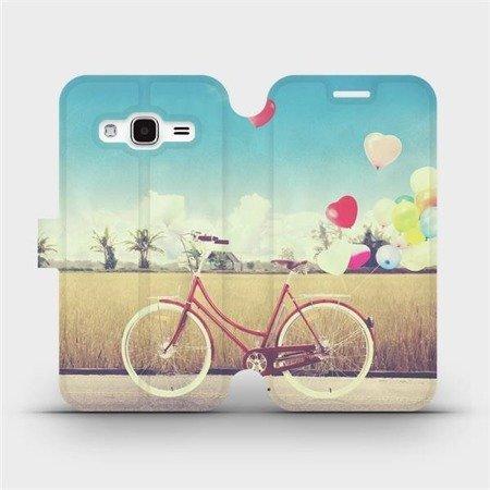 Flipové pouzdro Mobiwear na mobil Samsung Galaxy J3 2016 - M133P Kolo a balónky