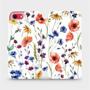 Flip pouzdro Mobiwear na mobil Apple iPhone SE 2020 - MP04S Luční kvítí