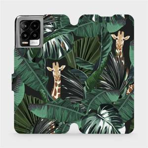 Flip pouzdro Mobiwear na mobil Realme 8 Pro - VP06P Žirafky