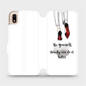 Flipové pouzdro Mobiwear na mobil Huawei Y5 2019 - M046P Be yourself