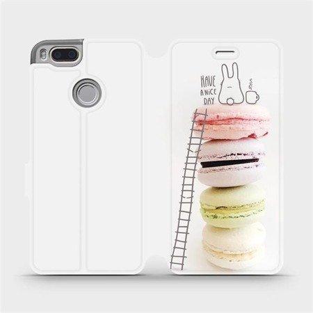 Flipové pouzdro Mobiwear na mobil Xiaomi Mi A1 - M090P Makronky - have a nice day