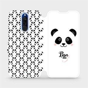 Flipové pouzdro Mobiwear na mobil Xiaomi Redmi 8 - M030P Panda Amálka