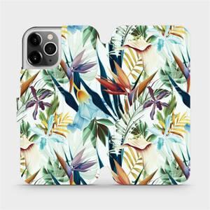 Flipové pouzdro Mobiwear na mobil Apple iPhone 12 Pro - M071P Flóra