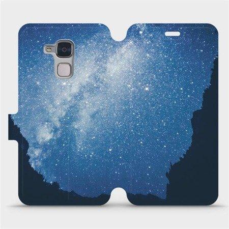 Flipové pouzdro Mobiwear na mobil Honor 7 Lite - M146P Galaxie