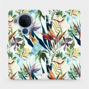Flipové pouzdro Mobiwear na mobil Nokia 5.4 - M071P Flóra