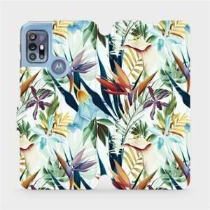 Flipové pouzdro Mobiwear na mobil Motorola Moto G20 - M071P Flóra