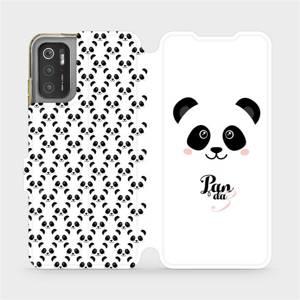 Flip pouzdro Mobiwear na mobil Xiaomi Poco M3 Pro 5G - M030P Panda Amálka