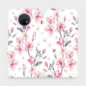 Flip pouzdro Mobiwear na mobil Nokia G10 - M124S Růžové květy