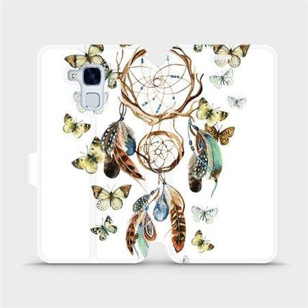 Flipové pouzdro Mobiwear na mobil Honor 7 Lite - M001P Lapač a motýlci