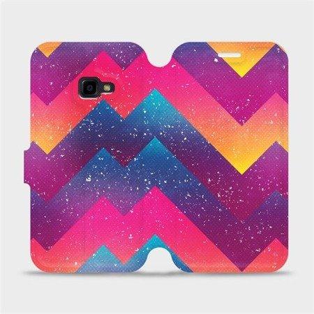 Flipové pouzdro Mobiwear na mobil Samsung Xcover 4 - V110S Barevné klikyháky