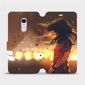 Flipové pouzdro Mobiwear na mobil Xiaomi Redmi Note 4 Global - MA02S Tetovaná dívka