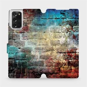 Flipové pouzdro Mobiwear na mobil Samsung Galaxy Note 20 - V061P Zeď