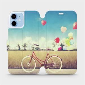Flipové pouzdro Mobiwear na mobil Apple iPhone 12 mini - M133P Kolo a balónky