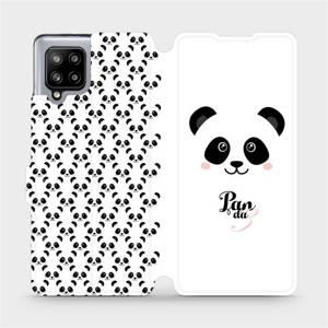 Flipové pouzdro Mobiwear na mobil Samsung Galaxy A42 5G - M030P Panda Amálka