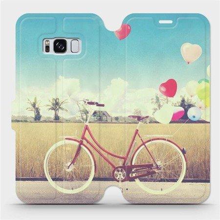 Flipové pouzdro Mobiwear na mobil Samsung Galaxy S8 - M133P Kolo a balónky
