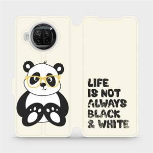 Flipové pouzdro Mobiwear na mobil Xiaomi MI 10T Lite - M041S Panda - life is not always black and white