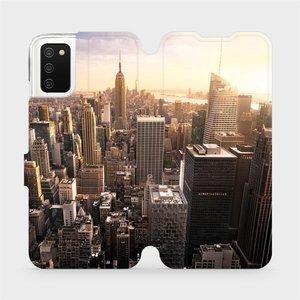 Flipové pouzdro Mobiwear na mobil Samsung Galaxy A02s - M138P New York