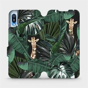 Flip pouzdro Mobiwear na mobil Huawei Y6 2019 - VP06P Žirafky