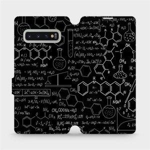 Flipové pouzdro Mobiwear na mobil Samsung Galaxy S10 Plus - V060P Vzorečky