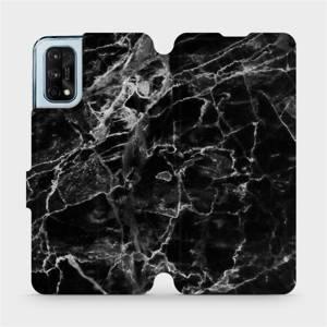 Flipové pouzdro Mobiwear na mobil Realme 7 Pro - V056P Černý mramor