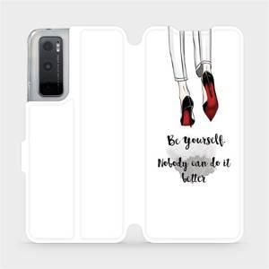 Flipové pouzdro Mobiwear na mobil Vivo Y70 - M046P Be yourself