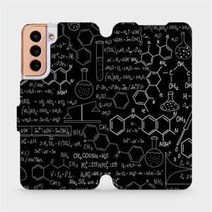 Flipové pouzdro Mobiwear na mobil Samsung Galaxy S21 5G - V060P Vzorečky