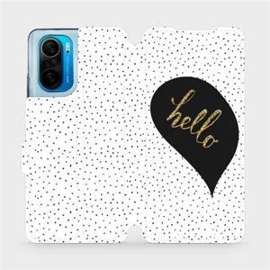 Flipové pouzdro Mobiwear na mobil Xiaomi Mi 11i / Xiaomi Poco F3 - M013P Golden hello