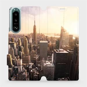 Flip pouzdro Mobiwear na mobil Sony Xperia 5 III - M138P New York