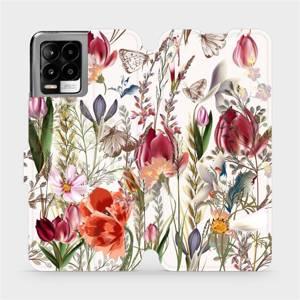 Flip pouzdro Mobiwear na mobil Realme 8 Pro - MP01S Rozkvetlá louka