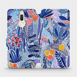 Flip pouzdro Mobiwear na mobil Huawei Mate 10 Lite - MP03P Modrá květena