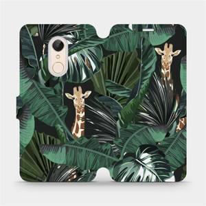 Flip pouzdro Mobiwear na mobil Xiaomi Redmi 5 - VP06P Žirafky
