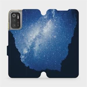 Flip pouzdro Mobiwear na mobil Xiaomi Poco M3 Pro 5G - M146P Galaxie