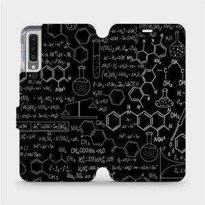 Flipové pouzdro Mobiwear na mobil Samsung Galaxy A7 2018 - V060P Vzorečky