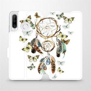 Flipové pouzdro Mobiwear na mobil Huawei P30 Lite - M001P Lapač a motýlci
