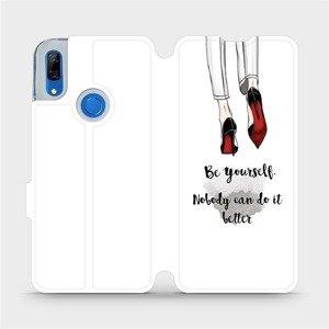 Flipové pouzdro Mobiwear na mobil Huawei P Smart Z - M046P Be yourself