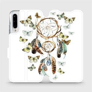 Flipové pouzdro Mobiwear na mobil Xiaomi Mi A3 - M001P Lapač a motýlci