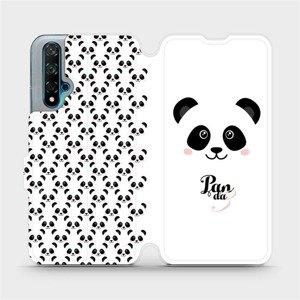 Flipové pouzdro Mobiwear na mobil Huawei Nova 5T - M030P Panda Amálka