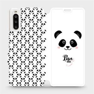 Flipové pouzdro Mobiwear na mobil Sony Xperia 10 II - M030P Panda Amálka