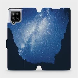 Flipové pouzdro Mobiwear na mobil Samsung Galaxy A42 5G - M146P Galaxie