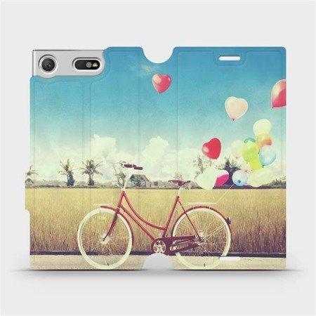 Flipové pouzdro Mobiwear na mobil Sony Xperia XZ1 Compact - M133P Kolo a balónky