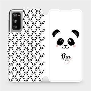 Flipové pouzdro Mobiwear na mobil Samsung Galaxy S20 FE - M030P Panda Amálka