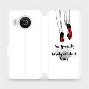 Flip pouzdro Mobiwear na mobil Nokia X10 - M046P Be yourself
