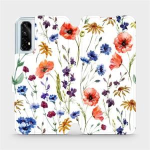 Flip pouzdro Mobiwear na mobil Realme 7 - MP04S Luční kvítí
