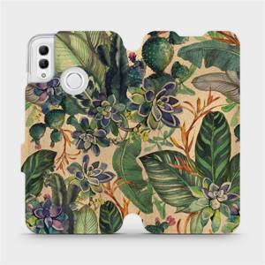 Flip pouzdro Mobiwear na mobil Honor 10 Lite - VP05S Sukulenty