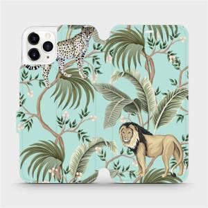 Flip pouzdro Mobiwear na mobil Apple iPhone 11 Pro Max - MP08S Dvě kočičky